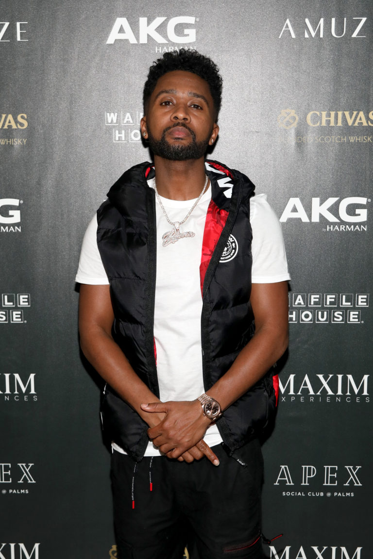 Producer Zaytoven attends The Maxim Big Game Experience (Photo by Jerritt Clark/Getty Images for Maxim)