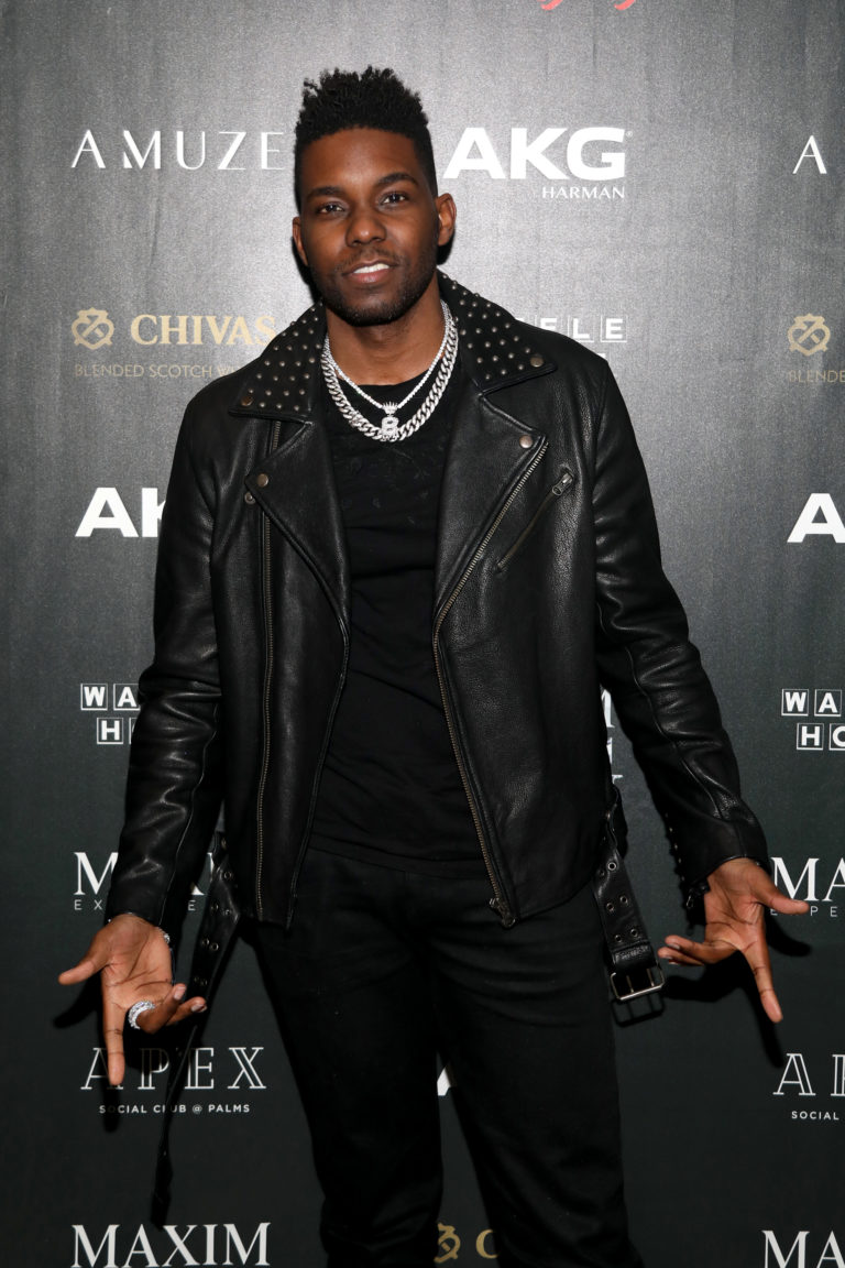 Barachi attends The Maxim Big Game Experience (Photo by Jerritt Clark/Getty Images for Maxim)