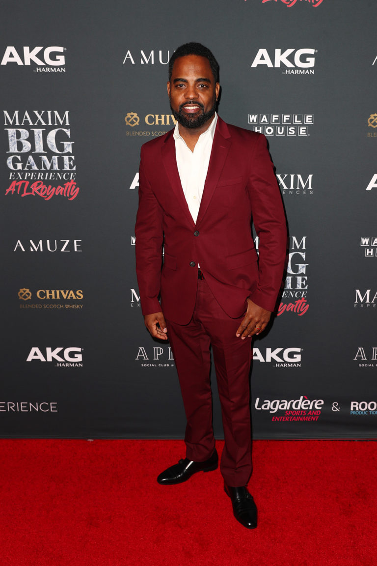 Todd Tucker attends The Maxim Big Game Experience (Photo by Joe Scarnici/Getty Images for Maxim)