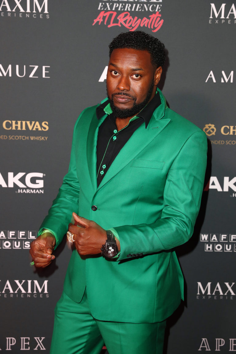 Johnnie Green attends The Maxim Big Game Experience (Photo by Joe Scarnici/Getty Images for Maxim)