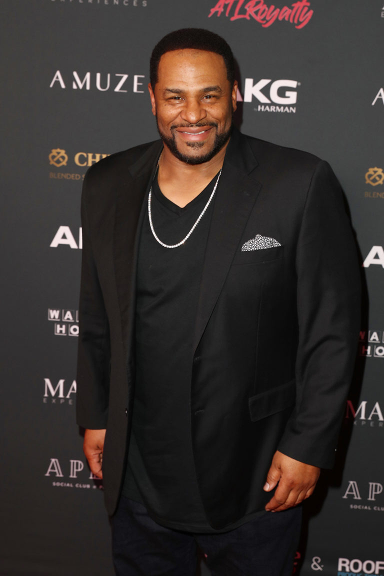 Jerome Bettis attends The Maxim Big Game Experience (Photo by Joe Scarnici/Getty Images for Maxim)