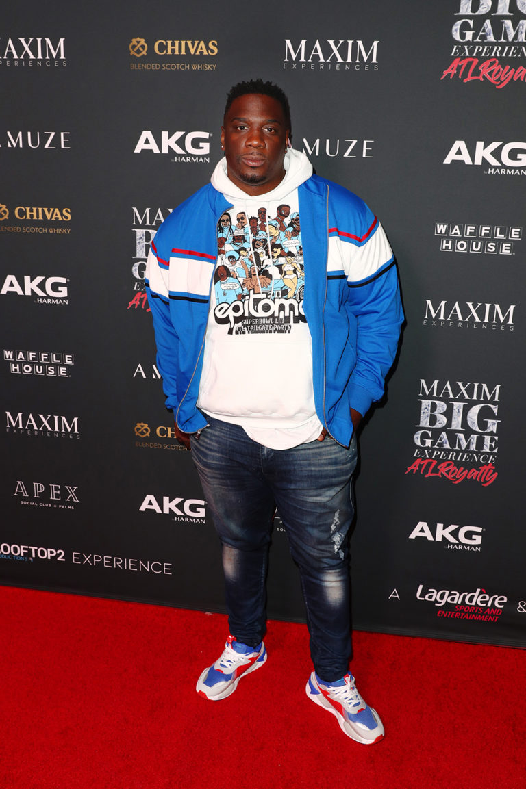 ATLANTA, GEORGIA - FEBRUARY 02: Donovan Carter attends The Maxim Big Game Experience at The Fairmont on February 02, 2019 in Atlanta, Georgia. (Photo by Joe Scarnici/Getty Images for Maxim)