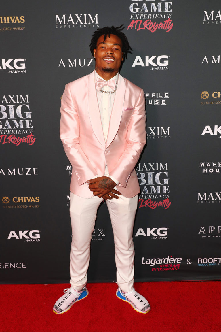 ATLANTA, GEORGIA - FEBRUARY 02: Derwin James attends The Maxim Big Game Experience at The Fairmont on February 02, 2019 in Atlanta, Georgia. (Photo by Joe Scarnici/Getty Images for Maxim)