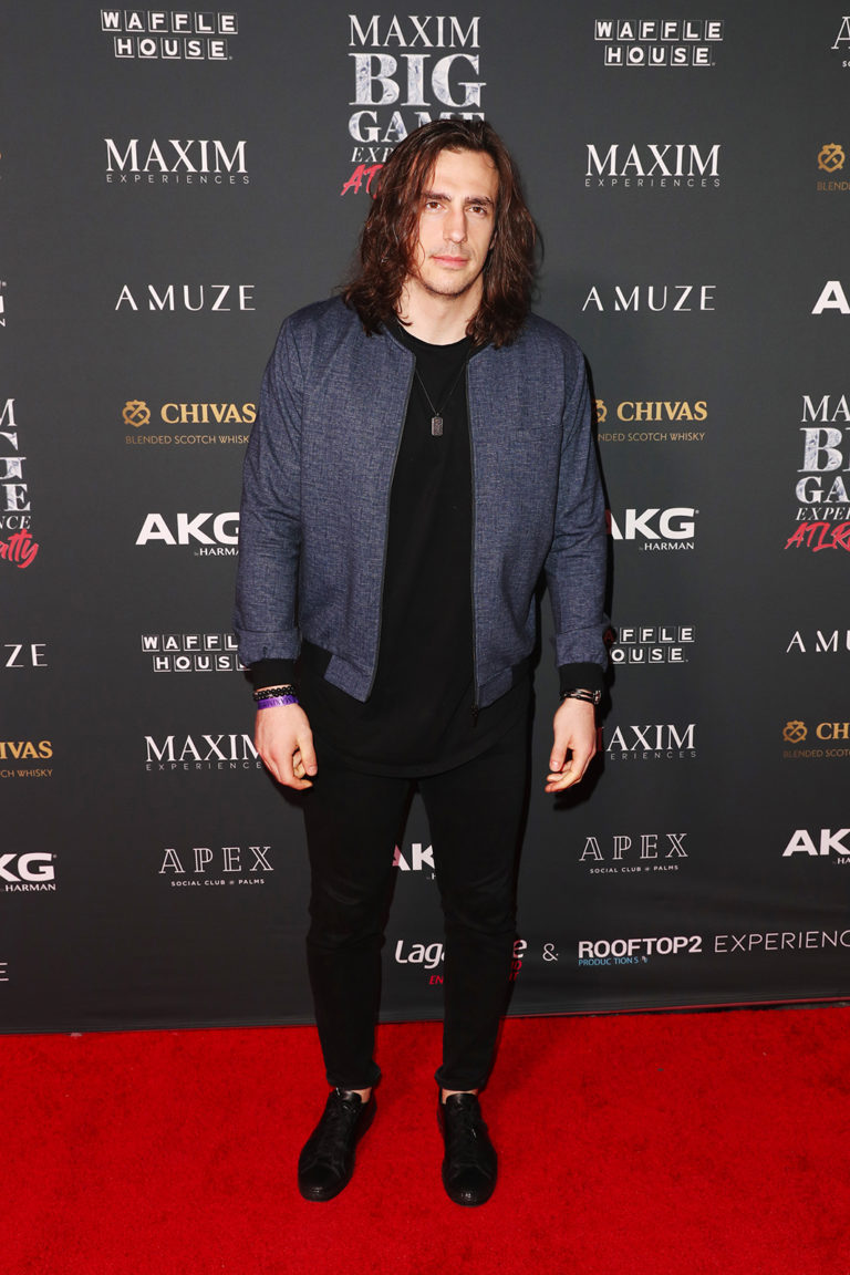 ATLANTA, GEORGIA - FEBRUARY 02: Luke Willson attends The Maxim Big Game Experience at The Fairmont on February 02, 2019 in Atlanta, Georgia. (Photo by Joe Scarnici/Getty Images for Maxim)