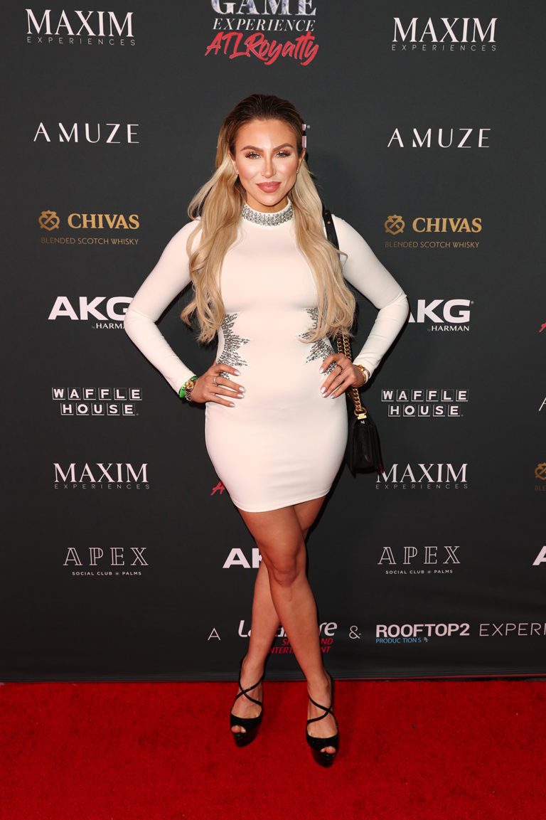 Khloë Terae  attends The Maxim Big Game Experience (Photo by Joe Scarnici/Getty Images for Maxim)