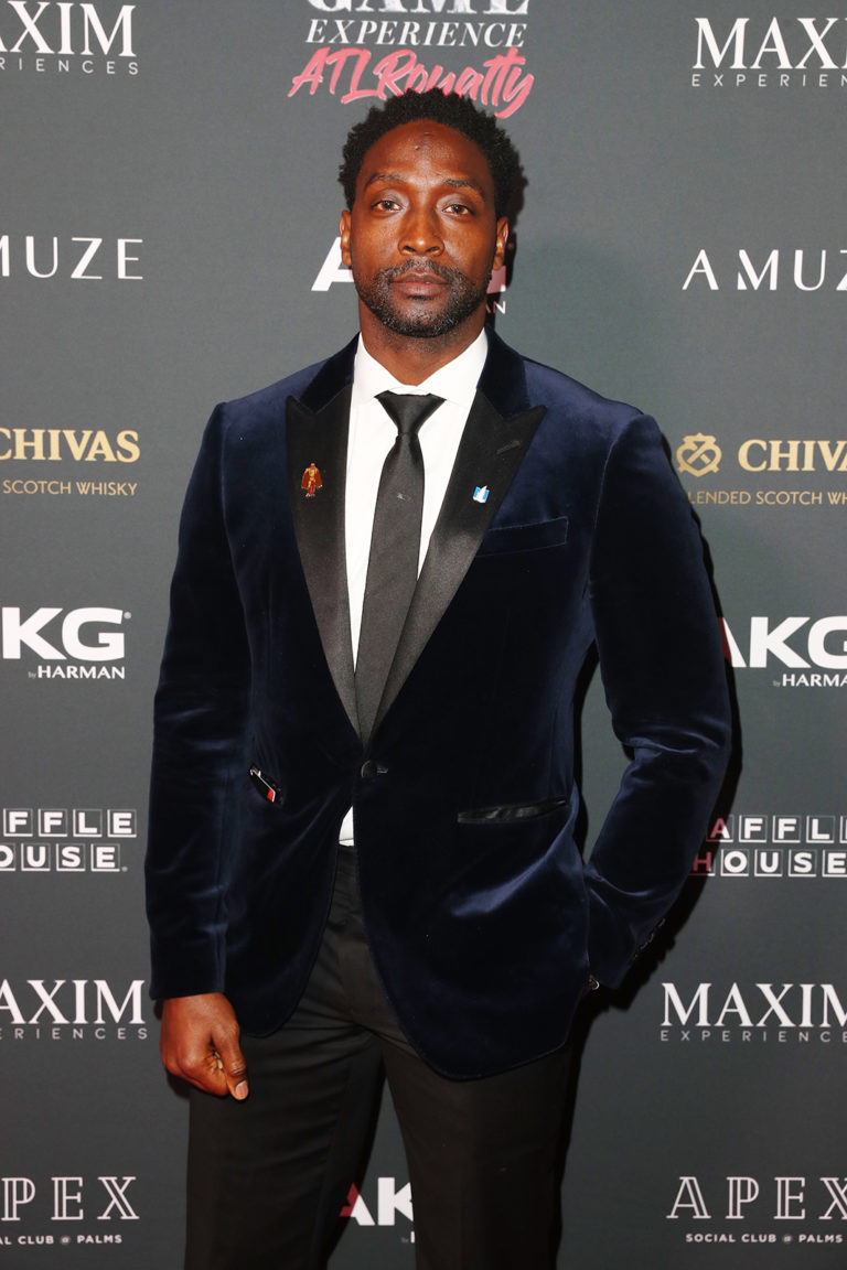 Charles Tillman attends The Maxim Big Game Experience (Photo by Joe Scarnici/Getty Images for Maxim)