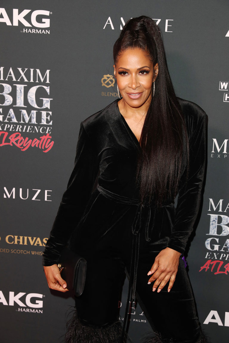 Sheree Whitfield attends The Maxim Big Game Experience (Photo by Joe Scarnici/Getty Images for Maxim)