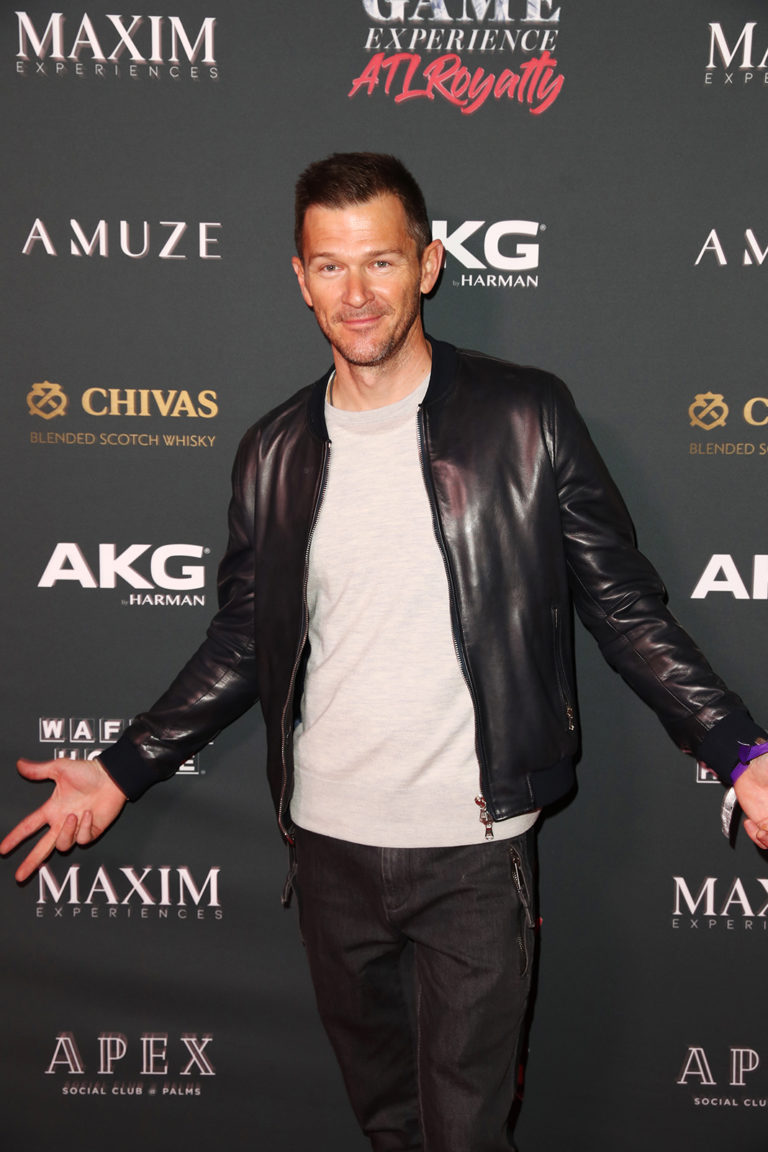 Nathan Goodspeed attends The Maxim Big Game Experience (Photo by Joe Scarnici/Getty Images for Maxim)