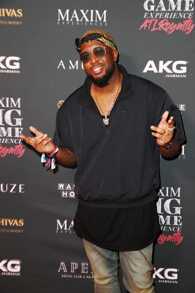 Lance Fresh attends The Maxim Big Game Experience (Photo by Joe Scarnici/Getty Images for Maxim)