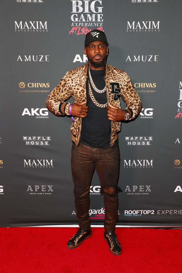 Dez Bryant attends The Maxim Big Game Experience (Photo by Joe Scarnici/Getty Images for Maxim)