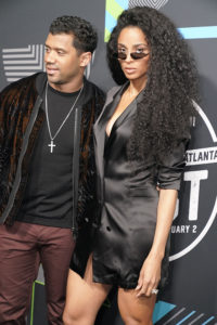 Russell Wilson and Ciara @ Bud SB Music Fest Thursday Night