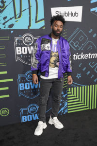 Jarvis Landry @ Bud SB Music Fest Thursday Night (Josh Bridgett/Forever Clear Media LLC)
