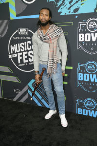 Josh Norman @ Bud SB Music Fest Thursday Night (Josh Bridgett/Forever Clear Media LLC)