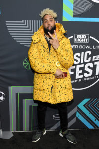 Odell Beckham Jr. @ Bud Light SB Music Fest Thursday Night(Photo by Kevin Mazur/Getty Images)