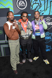 Migos @ Bud Light SB Music Fest Thursday Night(Photo by Kevin Mazur/Getty Images)