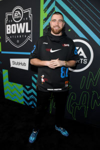 Travis Kelce @ Bud Light SB Music Fest Thursday Night(Photo by Kevin Mazur/Getty Images)