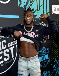 Antonio Brown @ Bud Light SB Music Fest Thursday Night(Photo by Kevin Mazur/Getty Images)