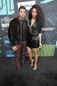 Russell Wilson and Ciara @ Bud SB Music Fest Thursday Night (Josh Bridgett/Forever Clear Media LLC)